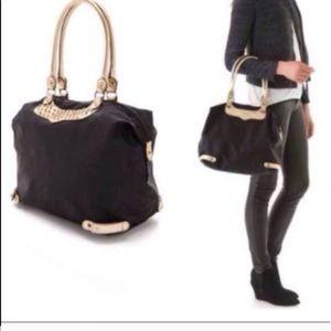 Rebecca Minkoff Studded Nylon Travel Tote Bag